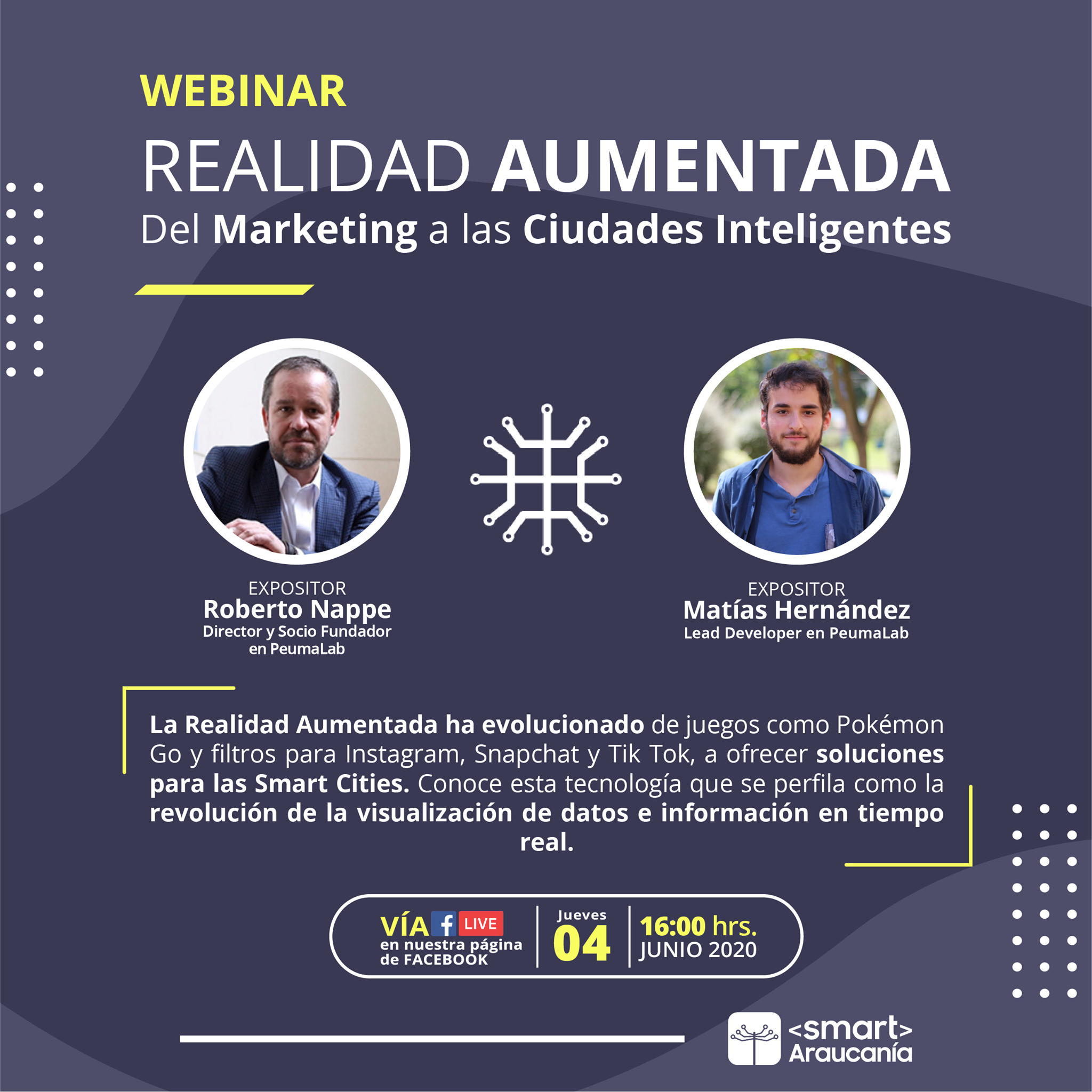 Webinar - La Realidad Aumentada, del marketing a las ciudades inteligentes